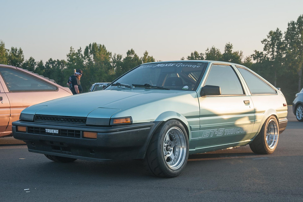 Toyota Corolla AE86 and it's manic 1.6-liter 4AGE.