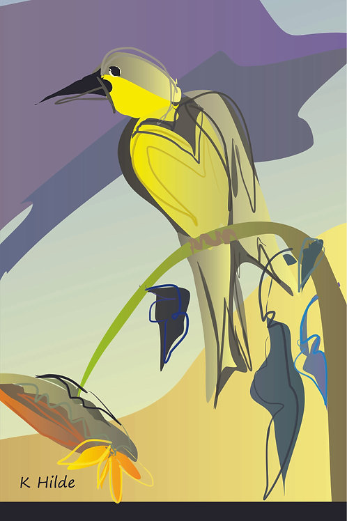 Yellow Bird Poster