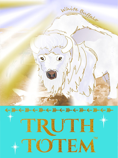 Truth Totem White Buffalo Oracle Deck