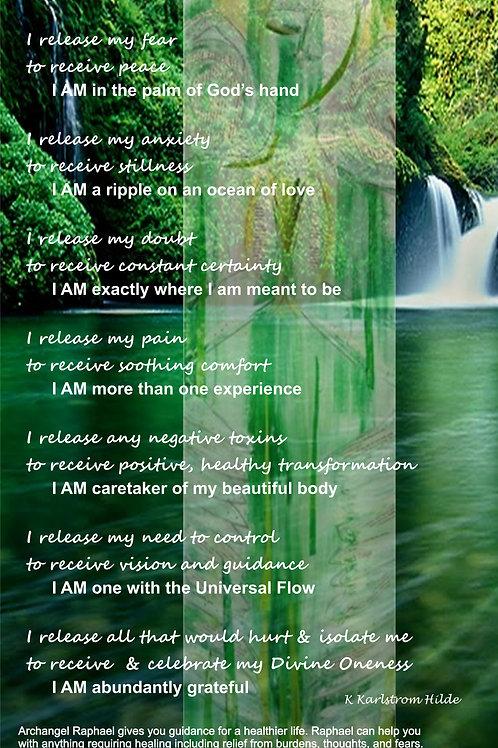Raphael Healing Poster