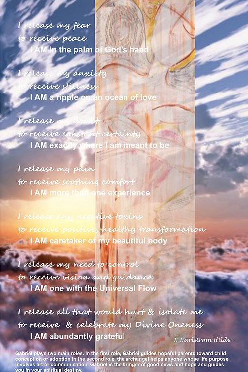 Gabriel Healing Poster