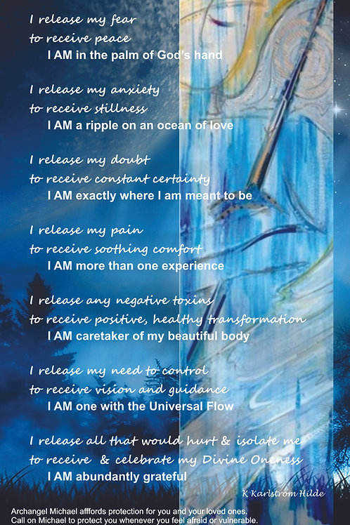 Michael Healing Poster