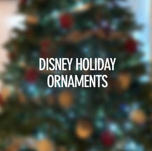 Disney Holiday Ornaments