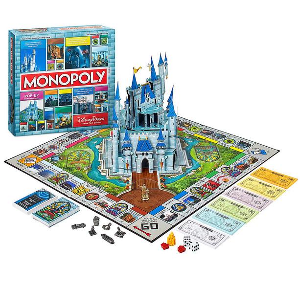 Disney Theme Park Monopoly