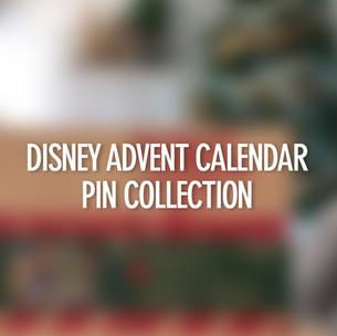Disney Advent Calendar Pin Collection