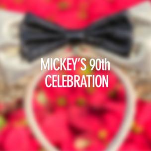 Mickey's 90th Celebration