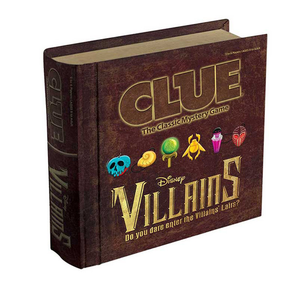 CLUE: Disney Villains