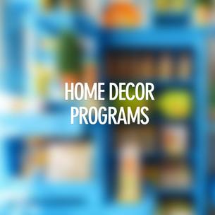 Home Decor Programs