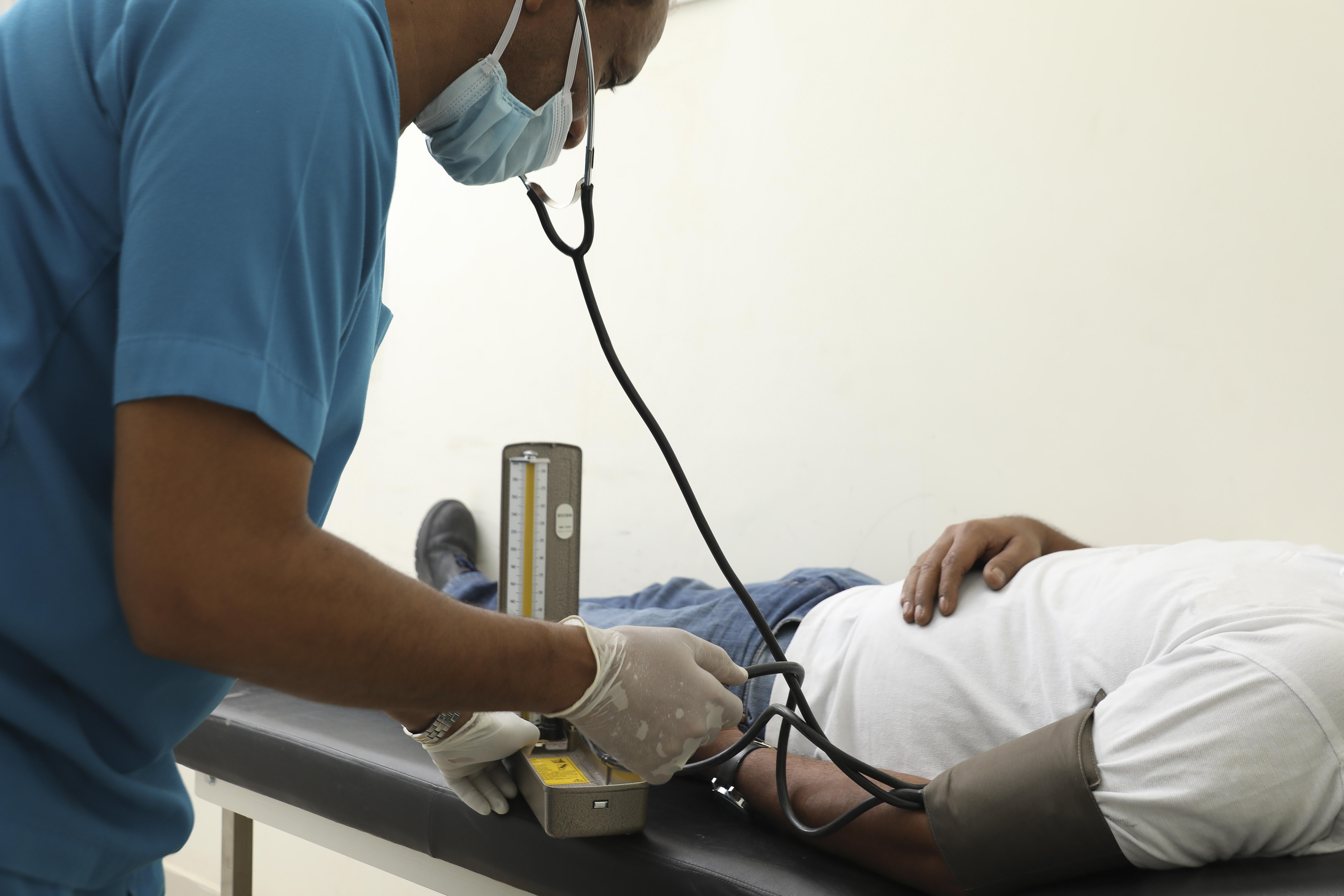 Health care clinic & team