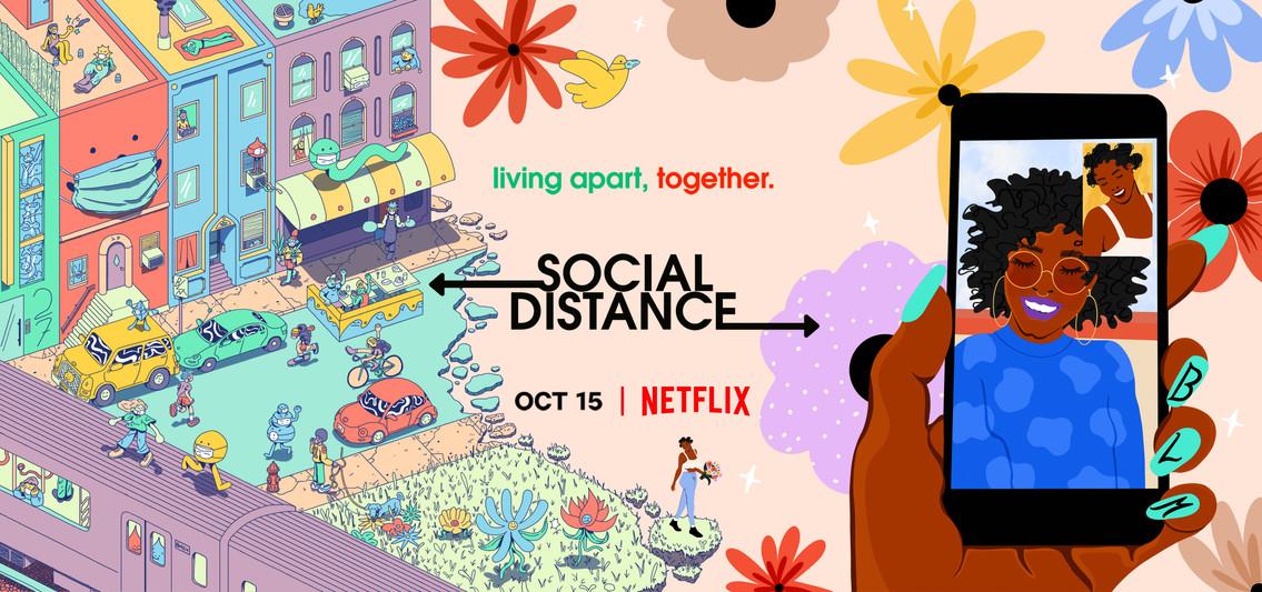 Netflix - Social Distance Mural