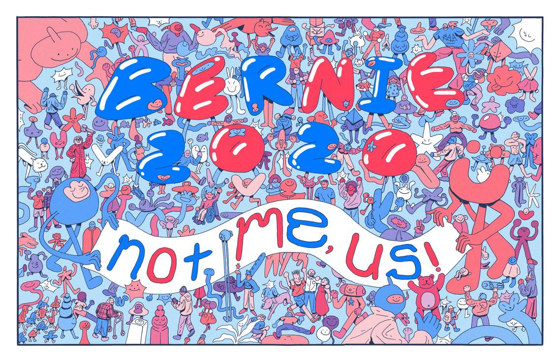 Bernie 2020 Campaign Poster