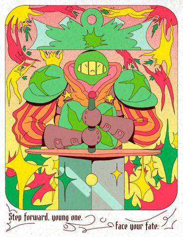 High Fantasy print series