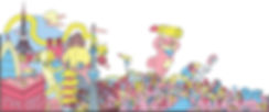 shibuyala illustration cosmetics mural window cartooning new york