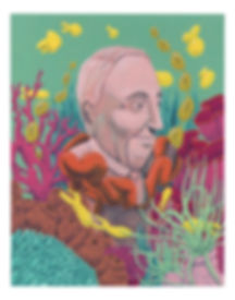 frank lautenber deep sea coral protection area illustration illustrator painting gouache