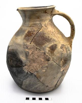 Covehithe Hollesley-type jug, courtesy Lowestoft Museum