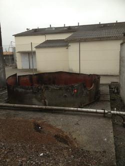demolition cuve
