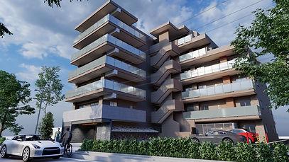 3d CG exterior Design 建築外観デザイン マンションデザイン 共同住宅デザイン 찬앤파트너스 찬&파트너스 CHAN&partners