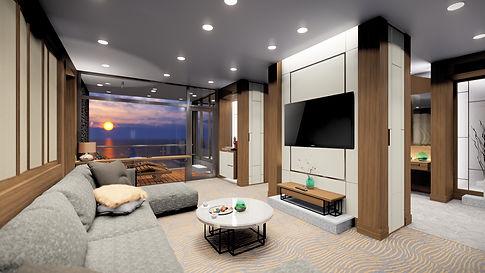 3D CG interior 인테리어디자인 CG투시도 찬&파트너스 찬앤파트너스 일본건축디자인 일본 인테리어 디자인  建築CG VR 360°パノラマ