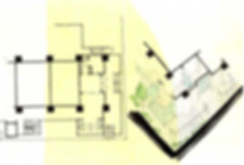 インテリアデザイン アイデアスケッチ ホテルデザイン チャン&パートナーズ 찬&파트너스 찬앤파트너스 CHAN&partners Idea sketch VR