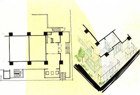 idea sketch interior design hotel design interior designer 인테리어 디자인 디자이너 공간디자인 건축디자인 찬&파트너스 찬앤파트너스 CHAN&partners 아이디어 스케치 디자인스케치 인테리어스케치