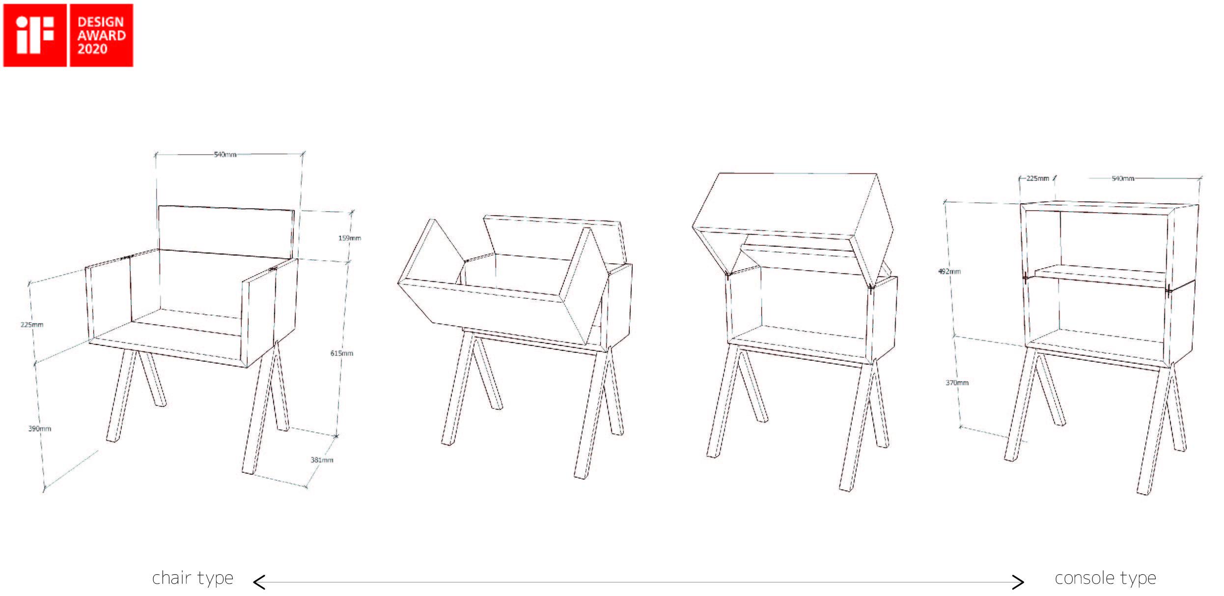 Consol Chair