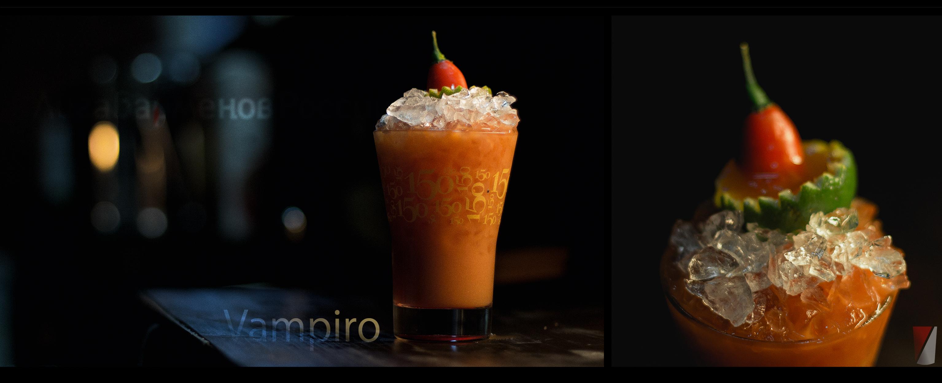Рецепт коктейля Вампиро