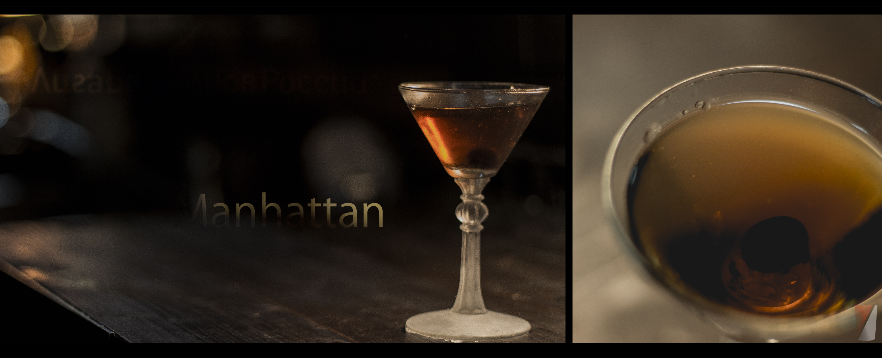 Рецепт коктейля Manhattan