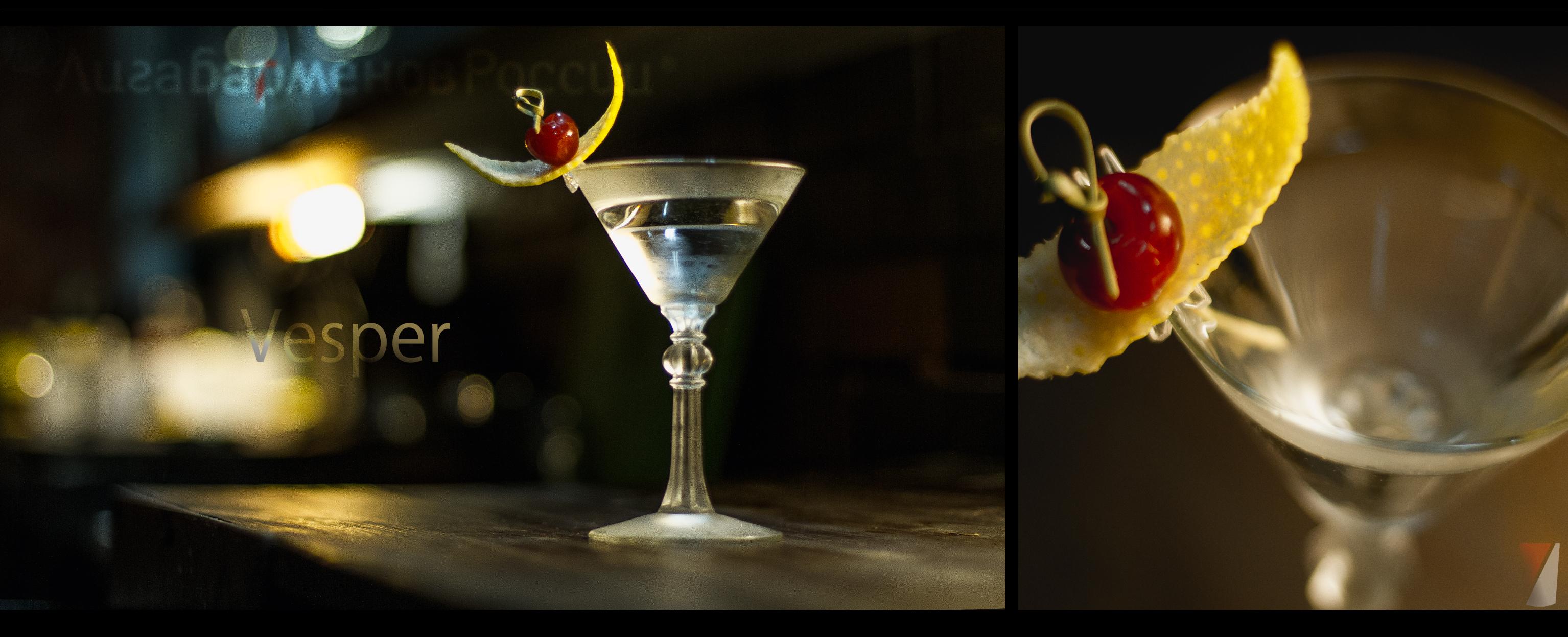 Рецепт коктейля vesper
