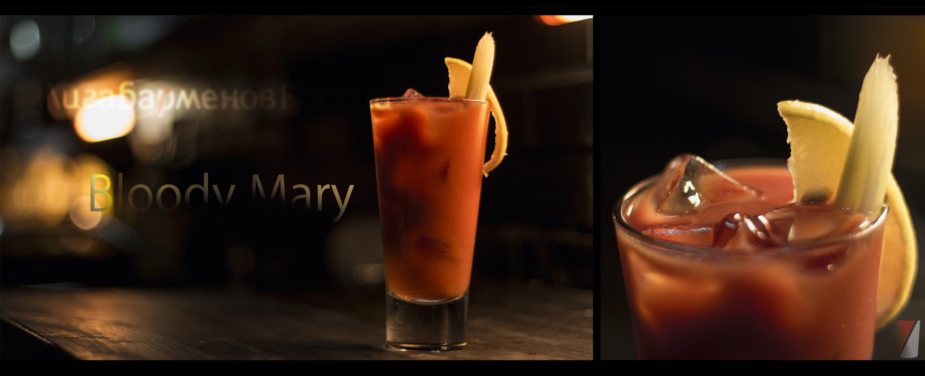 Рецепт коктейля Bloody Mary