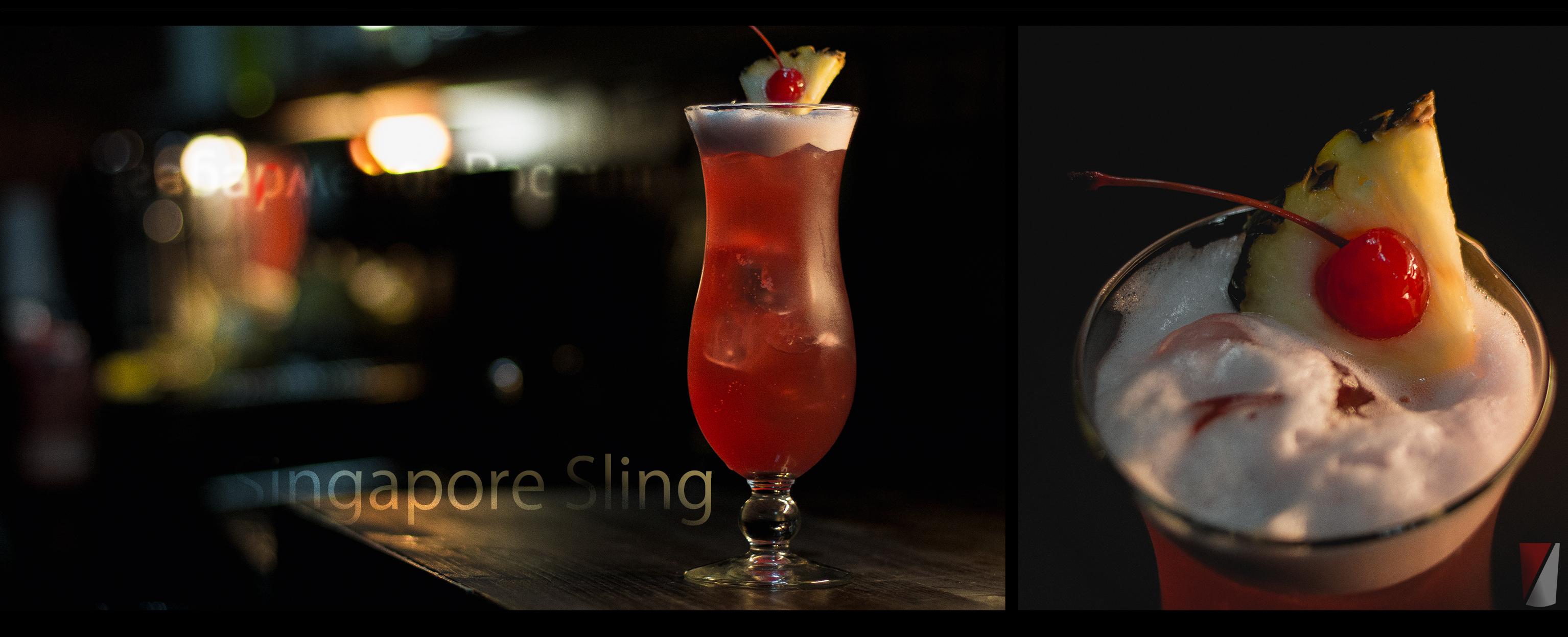 Рецепт коктейля Сингапурский Слинг