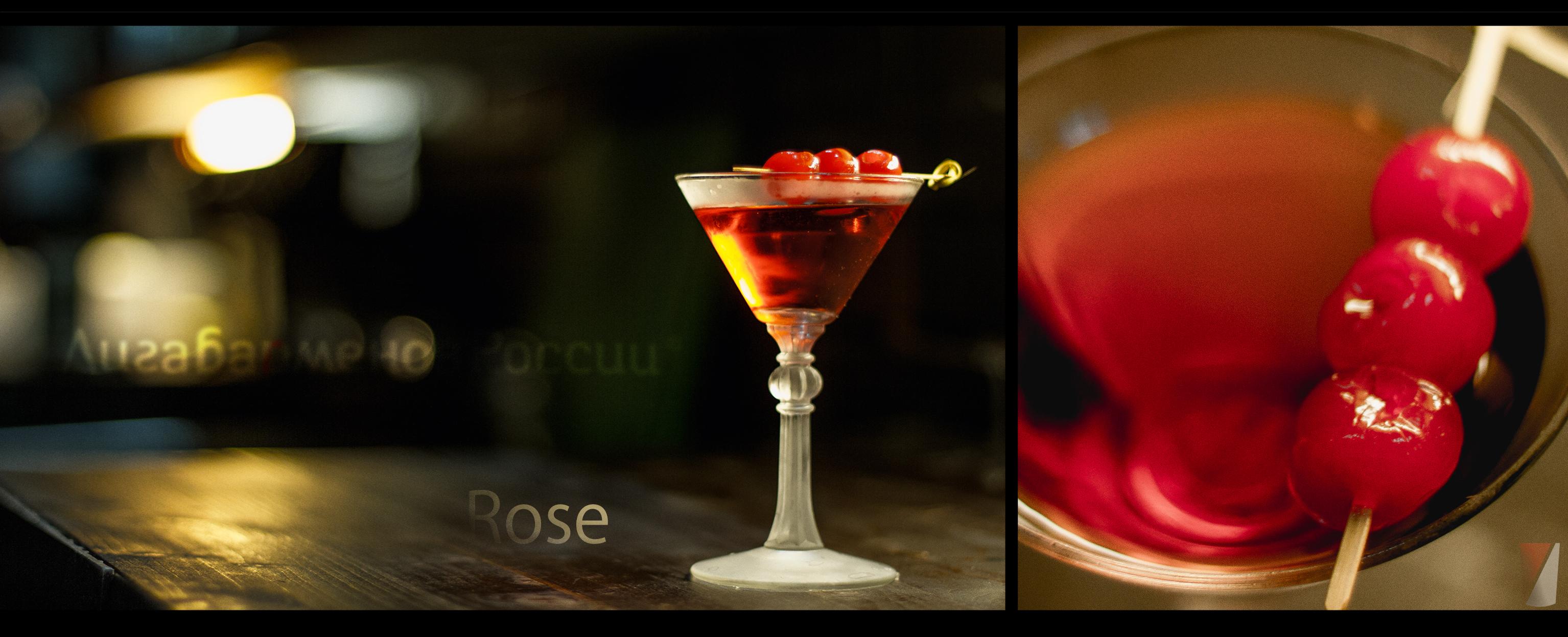 Рецепт коктейля Роза