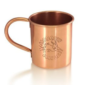 Copper Mule Mug with Engraving 0,41