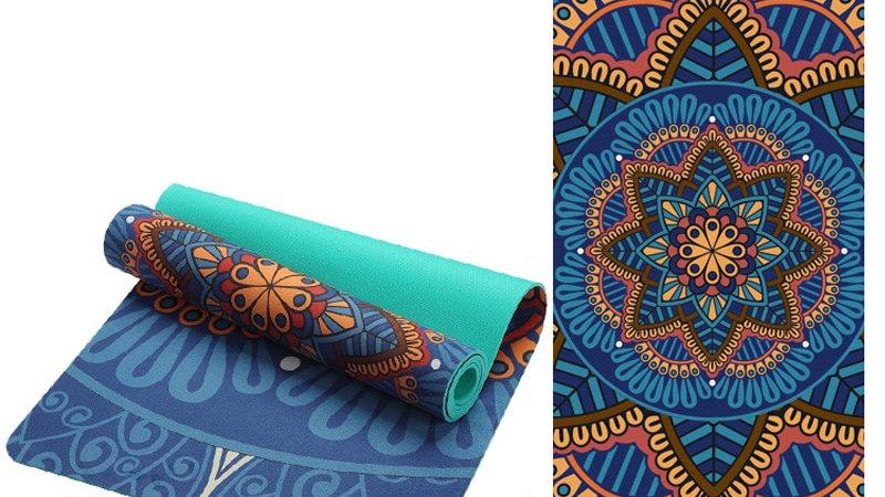 Lotus Suede Yoga Matt