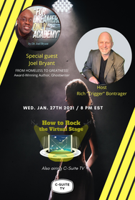 How to Rock the Virtual Stage Show with Joel Bryant