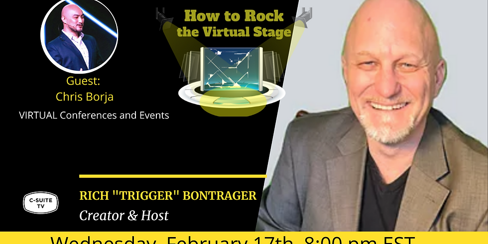 How to Rock the Virtual Stage Show with Chris Borja