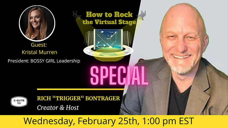 How to Rock the Virtual Stage Show with Kristal Murren