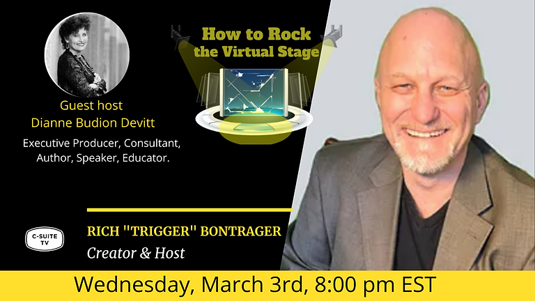 How to Rock the Virtual Stage Show with Dianne Devitt