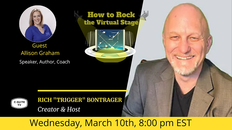 How to Rock the Virtual Stage with Allison Graham