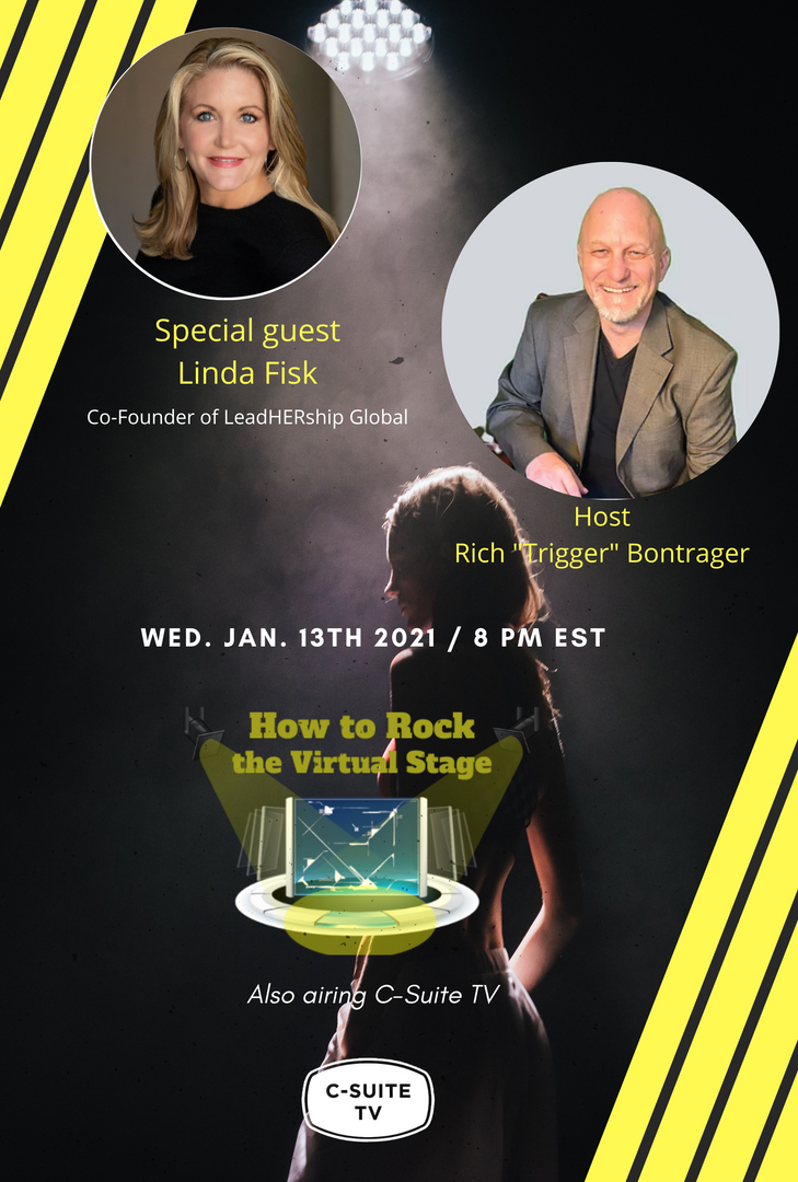 How to Rock the Virtual Stage Show with Linda Fisk
