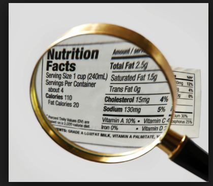 Sodium Content - Nutrition Facts
