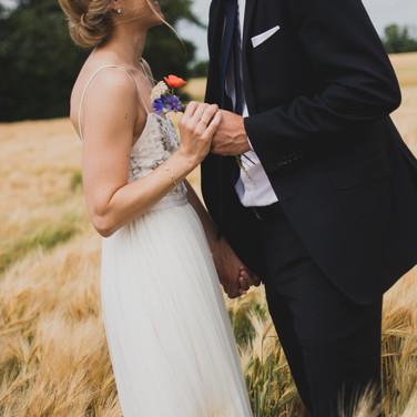 Hochzeit im Feld