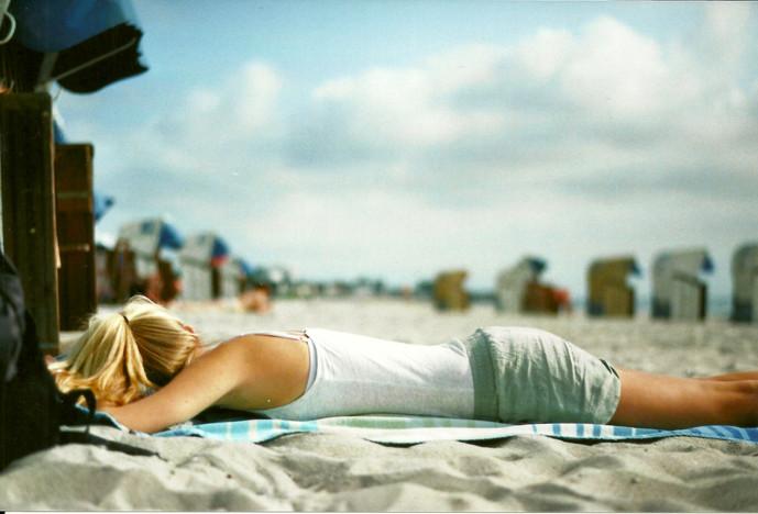Grömitz Sonnenbaden