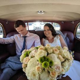 bride in her way to the wedding.JPG