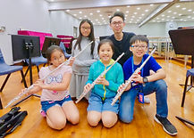 Learn flute Hong Kong teacher lesson