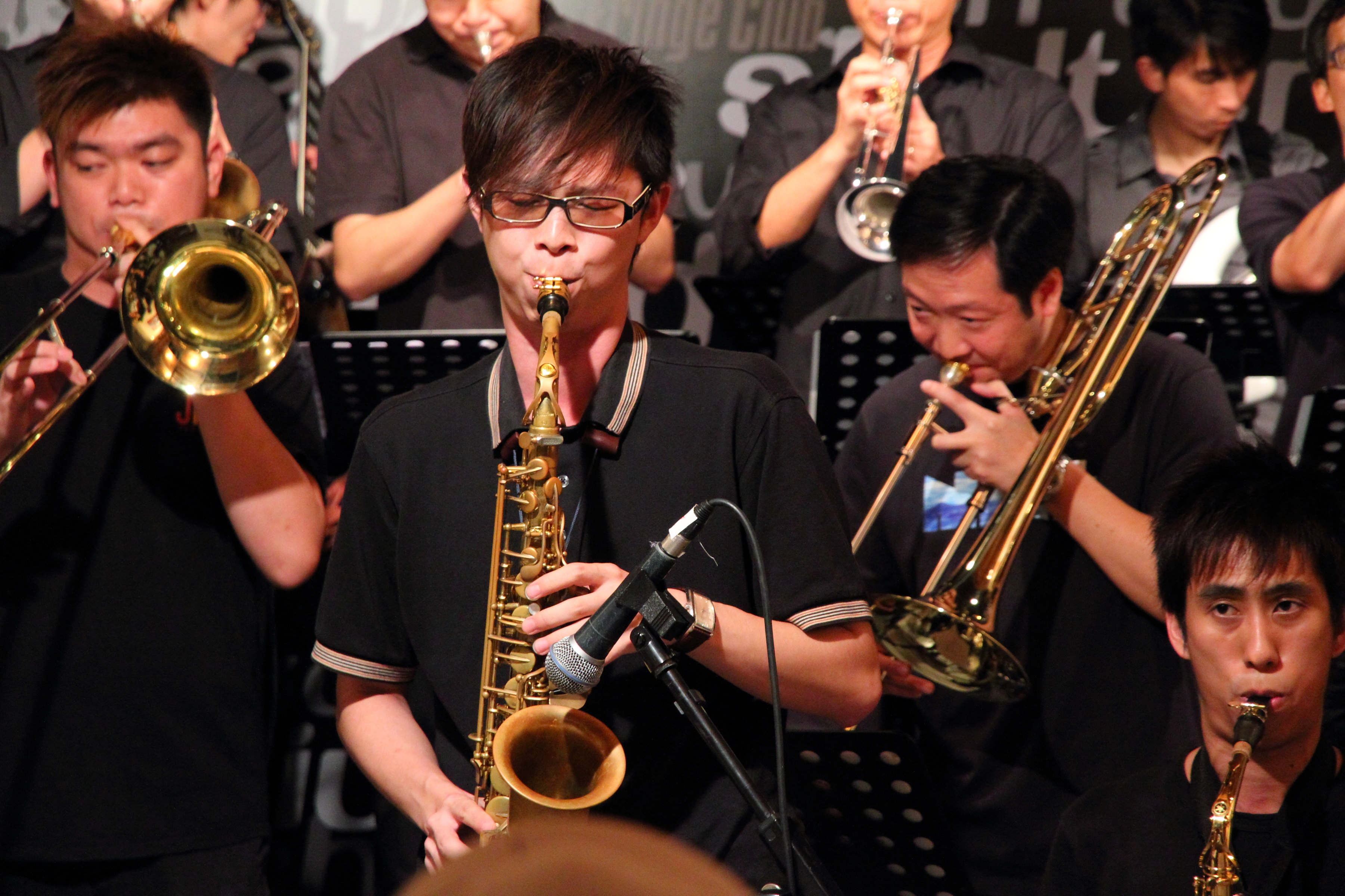 Basic Note Jazz Big Band