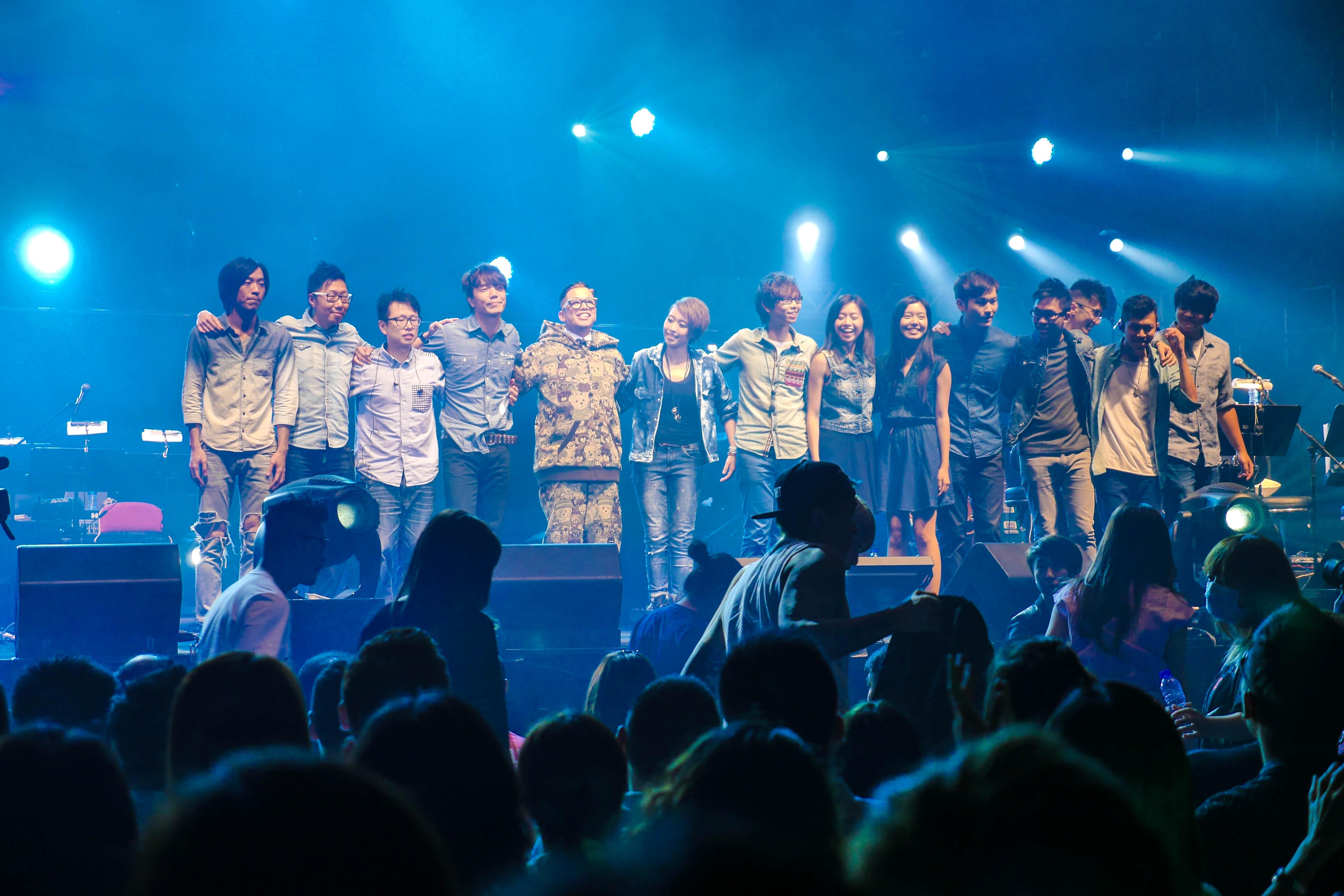 依然小肥2014香港演唱會