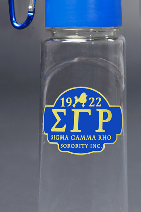 Sigma Gamma Rho Water Bottle