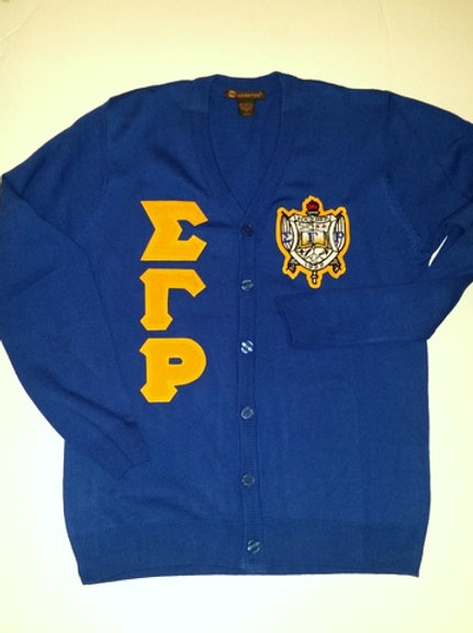 Sigma Gamma Rho Cardigan Sweater