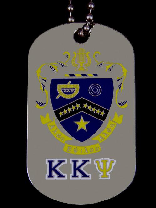 Kappa Kappa Psi Double Sided Dog Tags