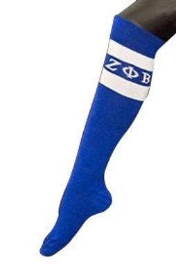 Zeta Phi Beta Knee High Socks